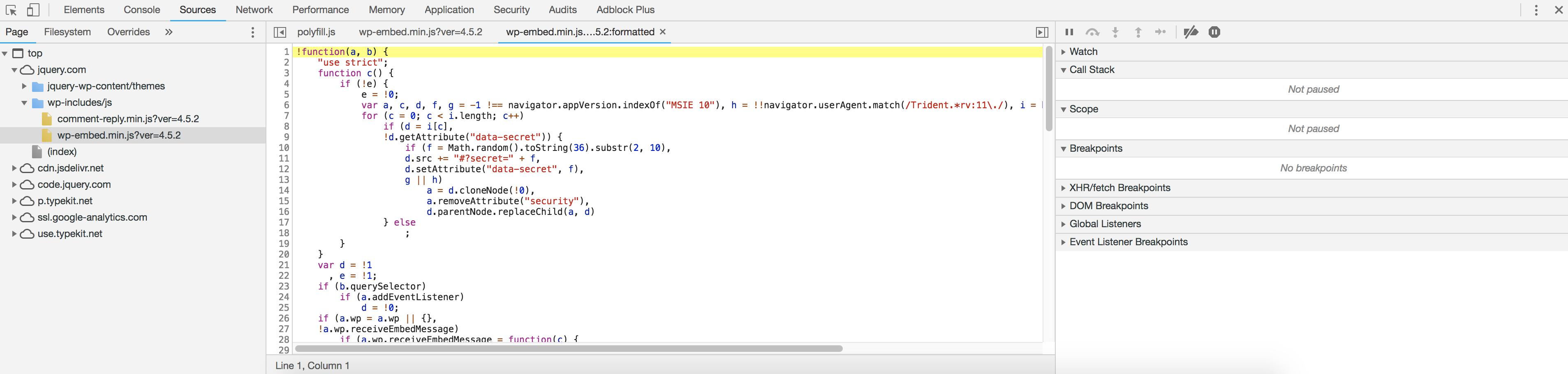 JavaScript debugging with Chrome DevTools - DEV Community 👩 💻👨 💻